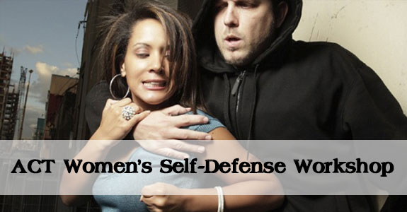 ACT Womens Self-Defense Workshop