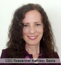 CDC Researcher Kathleen Basile