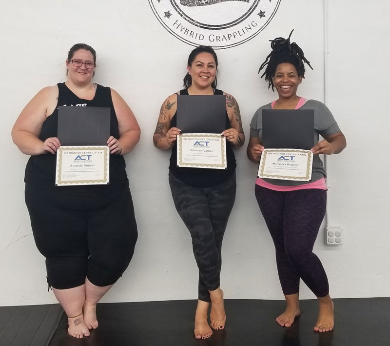 ACT Self-Defense Certified Instructors